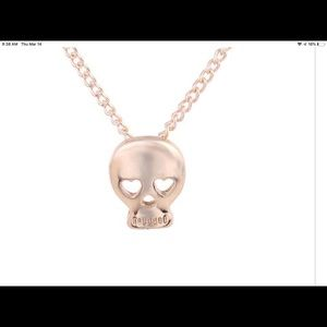 Jewelry - Skull Fearless Pendant Necklace